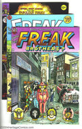 Bronze Age (1970-1979):Alternative/Underground, The Fabulous Furry Freak Brothers Group (Rip Off Press, 1975-82) Condition: Average NM. Issues #4, 5, and 7. Art by Gilbert ... (Total: 3 Comic Books Item)