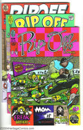 Bronze Age (1970-1979):Alternative/Underground, Rip Off Comix Group (Rip Off Press, 1978-82) Condition: Average NM. Issues #4, 5, 7, and 10. Fabulous Furry Freak Brothers... (Total: 4 Comic Books Item)