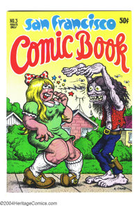 San Francisco Comic Book #3 (Print Mint, 1970) Condition: NM. Art by R. Crumb, Greg Irons, S. Clay Wilson, Willy Murphy...