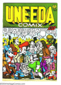 Modern Age (1980-Present):Alternative/Underground, Uneeda Comix #1 (Print Mint, 1971) Condition: VF+. Robert Crumbart. Not listed in Overstreet Price Guide. ...