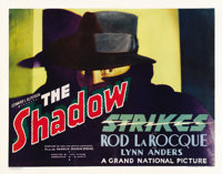 "The Shadow Strikes (Grand National, 1937). Half Sheet (22"" X 28"") Style A"