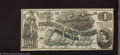 Confederate Notes:1862 Issues, Counterfeit 1862 $1, CT-45/342, Choice Crisp Uncirculated. ...