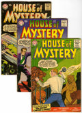Silver Age (1956-1969):Horror, House of Mystery Group (DC, 1956-62) Condition: Average VG....(Total: 13 Comic Books)