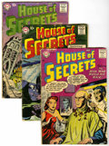 Silver Age (1956-1969):Mystery, House of Secrets Group (DC, 1957-65) Condition: Average GD/VG....(Total: 13 Comic Books)