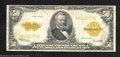 Large Size:Gold Certificates, 1922 $50 Gold Certificate, Fr-1200, Fine-Very Fine. There are ...