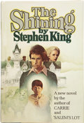 Books:First Editions, Stephen King. The Shining. Garden City, New York: Doubleday& Company, Inc., 1977. . ...