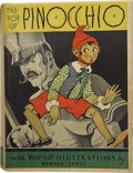 "Books:First Editions, The ""Pop-Up"" Pinocchio: Being the Life and Adventures of aWooden Puppet Who Finally Became a Real Boy. With ""Pop-Up"" ..."