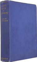 Books:First Editions, W. Olaf Stapledon. Last Men in London. London: Methuen &Co. Ltd., [1932]. . ...