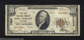 National Bank Notes:Colorado, Fort Morgan, CO - $10 1929 Ty. 2 The First NB Ch. # ...