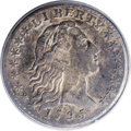 Early Half Dimes, 1795 H10C AU58 ANACS....