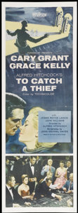 "Movie Posters:Hitchcock, To Catch a Thief (Paramount, 1955). Insert (14"" X 36""). Hitchcock...."