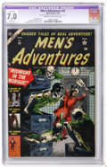 Golden Age (1938-1955):Horror, Men's Adventures #26 (Atlas, 1954) CGC Apparent FN/VF 7.0 Slight(A) Cream to off-white pages....