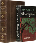Books:Signed Editions, Harper Lee: Beautiful Inscribed First Edition of To Kill a Mockingbird. (New York: J. B. Lippincott Company, 1960), firs...