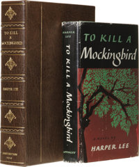 Harper Lee: Beautiful Inscribed First Edition of To Kill a Mockingbird. (New York: J. B. Lippincott Company, 1960), firs...