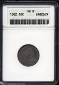 Early Dimes: , 1802 VG8 ANACS. The current Coin Dealer Newsletter (...