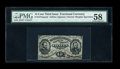 Fractional Currency:Third Issue, Fr. 1274SP 15c Third Issue PMG Choice About Unc 58....