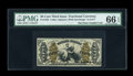 Fractional Currency:Third Issue, Fr. 1356 50c Third Issue Justice PMG Gem Uncirculated 66 EPQ....