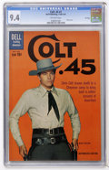 Silver Age (1956-1969):Western, Colt .45 #7 File Copy (Dell, 1961) CGC NM 9.4 Off-white pages....