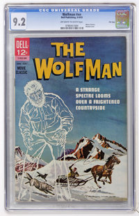 Movie Classics - The Wolfman - File Copy (Dell, 1963) CGC NM- 9.2 Off-white to white pages
