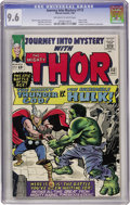 Silver Age (1956-1969):Superhero, Journey Into Mystery #112 (Marvel, 1965) CGC NM+ 9.6 Off-white to white pages....