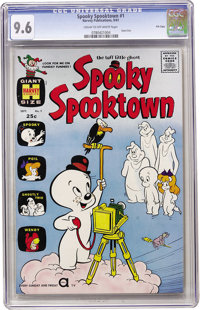 Spooky Spooktown #1 File Copy (Harvey, 1961) CGC NM+ 9.6 Cream to off-white pages