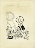 Original Comic Art:Covers, Warren Kremer - Richie Rich #54 Cover Original Art (Harvey, 1967).....