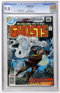 Bronze Age (1970-1979):Horror, Ghosts #72 (DC, 1979) CGC NM/MT 9.8 White pages....