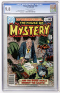 Modern Age (1980-Present):Horror, House of Mystery #283 (DC, 1980) CGC NM/MT 9.8 Off-white to whitepages....