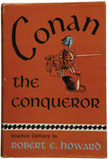 Books:First Editions, Robert E. Howard. Conan the Conqueror....