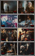 """Movie Posters:Horror, Fright Night (Columbia, 1985). Lobby Card Set of 8 (11"""" X 14""""). Horror.... (Total: 8 Items)"""