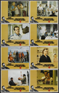 "One Flew Over the Cuckoo's Nest (United Artists, 1975). Lobby Card Set of 8 (11"" X 14""). Academy Award Winner..."