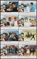 "Movie Posters:Musical, Grease (Paramount, R-1998). Lobby Card Set of 8 (11"" X 14""). Musical.... (Total: 8 Items)"