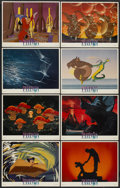 "Movie Posters:Animated, Fantasia (Buena Vista, R-1980s). Deluxe Lobby Card Set of 8 (11"" X14""). Animated.... (Total: 8 Items)"