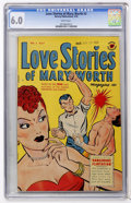 Golden Age (1938-1955):Romance, Love Stories of Mary Worth #5 (Harvey, 1950) CGC FN 6.0 Whitepages....