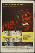 "Movie Posters:War, Attack! (United Artists, 1956). One Sheet (27"" X 41""). War...."