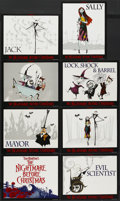 """Movie Posters:Fantasy, The Nightmare Before Christmas (Touchstone, 1993). Lobby Card Set of 8 (11"""" X 14""""). Fantasy.... (Total: 8 Items)"""