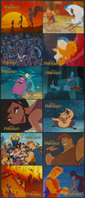 """Movie Posters:Animated, Hercules (Buena Vista, 1997). Deluxe International Lobby Card Set of 12 (11"""" X 14""""). Animated.... (Total: 12 Items)"""