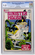 Bronze Age (1970-1979):Horror, Sinister House of Secret Love #4 (DC, 1972) CGC VF/NM 9.0 Off-whitepages....