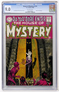 Silver Age (1956-1969):Horror, House of Mystery #174 (DC, 1968) CGC VF/NM 9.0 Off-white pages....