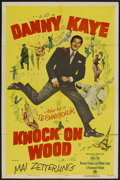 """Movie Posters:Comedy, Knock on Wood (Paramount, 1954). One Sheet (27"""" X 41""""). Comedy...."""
