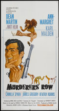 """Movie Posters:Action, Murderers' Row (Columbia, 1966). Three Sheet (41"""" X 81"""").Action...."""