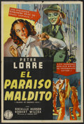 """Movie Posters:Thriller, Island of Doomed Men (Columbia, 1940). Argentinean Poster (29"""" X 43""""). Thriller...."""