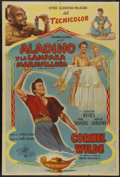 "Movie Posters:Adventure, A Thousand and One Nights (Columbia, 1945). Argentinean Poster (29""X 43""). Adventure...."