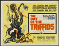 "Movie Posters:Science Fiction, The Day of the Triffids (Allied Artists, 1960). Half Sheet (22"" X28""). Science Fiction...."