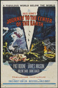 "Movie Posters:Science Fiction, Journey to the Center of the Earth (20th Century Fox, 1959). OneSheet (27"" X 41""). Science Fiction...."