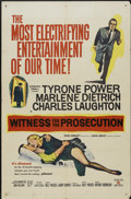 """Movie Posters:Mystery, Witness for the Prosecution (United Artists, 1958). One Sheet (27""""X 41""""). Mystery...."""