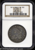 Bust Half Dollars: , 1811 50C Small 8 XF45 NGC. O-111, R.1. The margins offer ...
