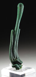 Minerals:Cabinet Specimens, MALACHITE STALACTITE GROUP. ...