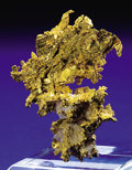 Minerals:Golds, NATIVE GOLD CRYSTALS. ...