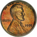 Lincoln Cents, 1955 1C Doubled Die Obverse MS64 Red PCGS....